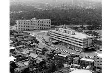 Birds-eye-view of the new Hardy Barracks office of the Pacific Stars and Stripes, taken after 1962.