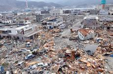 In this photo taken by former Stars and Stripes reporter Tim Flack, the coastal fishing village of Ofunato, Japan, looks like a war zone following the earthquake and tsunami of March 11, 2011.