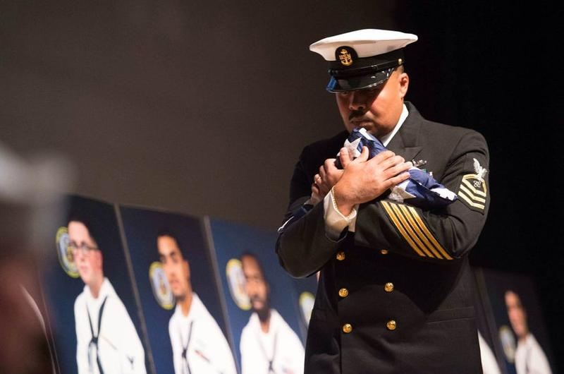 USS John S. McCain memorial service at CFAY